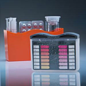 Analisis del agua POOLTESTER - Cloro-pH LR