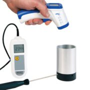 Comparador para termómetros infrarrojos