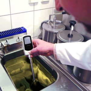 Medición de compuestos polares en aceite de freír