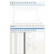 Interfase con cable USB y software de gestión