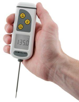 Termómetro inteligente APPCC con sonda de penetración