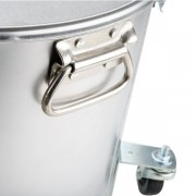 Depósito móvil de filtración para aceites de freír